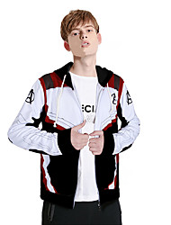 cheap -Super Heroes Cosplay Costume Men's Movie Cosplay Cosplay Halloween Black Top Halloween Carnival Polyster