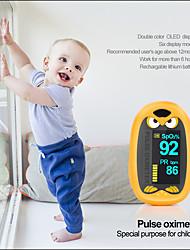 cheap -Oximetro Pulse Oximeter De Pulso De Dedo Fingertip Pulse Oximeter Two Color Pulsioximetro Led Heart Rate Monitor Pulse Meter