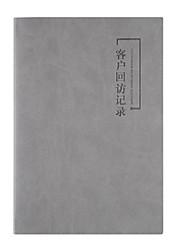cheap -Notepads PU Leather 200 pcs 3 pcs