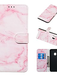 cheap -Case For Samsung Galaxy A20e / A7(2018) Magnetic / Flip / with Stand Full Body Cases Marble Hard PU Leather for Galaxy A9(2018)/A10/A30/20A/A40/A70/A9 2018/A3 2016/A5 2017/A3 2017/A5 2016
