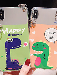 cheap -Case For Apple iPhone XS / iPhone XR / iPhone XS Max Dustproof / IMD / Pattern Back Cover Animal / Cartoon PC
