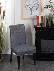 cheap -Chair Cover Contemporary Yarn Dyed Polyester Slipcovers