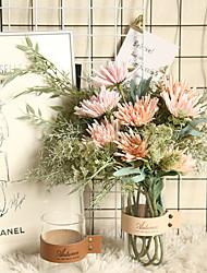 Недорогие -краб коготь драконий коготь цветок симулятор производитель цветов украшение дома свадебный букет цветочный завод стена искусственный цветок 1 ветка 2 головы