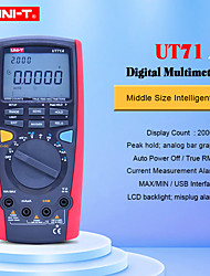 cheap -Digital Multimeter UNI-T UT71A AC DC current voltage USB true REL Resistance Tester Ammeter Multitester with Bluetooth function