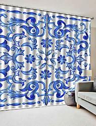 abordables -rideaux d'étude de style chinois 3d haute définition indélébile rideau fond isolement thermique insonorisé pour rideau en tissu bureau chambre