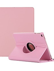 cheap -Case For Apple iPad Air / iPad 4/3/2 / iPad Mini 3/2/1 360° Rotation / Dustproof Full Body Cases Solid Colored Hard PU Leather / iPad (2017) / iPad Pro 10.5