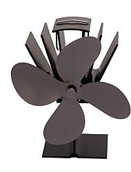 Недорогие -Каминный вентилятор Износостойкий Прочный Высокое качество Алюминиевый сплав Повседневный Походы / туризм / спелеология Черный 1 pcs