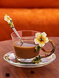 Недорогие -Drinkware Набор для питья стекло / Алюминиево-магниевый сплав Мини / Boyfriend Подарок / Подруга Gift Подарок / На каждый день
