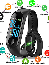 cheap -M3 Smart Watch BT 4.0 Fitness Tracker Support Notify & Blood Pressure Measurement Waterproof Wristband for Android & IOS Mobiles