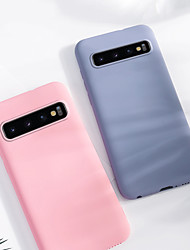 cheap -Samsung S10 Cover Soft TPU Smooth Cover Original Silicone Full Back Case Capa  Dirt-resistant Luxury