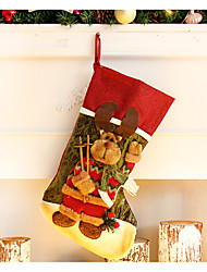 cheap -Christmas Decorations Toys Socks Textile Pieces Christmas Gift