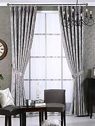 cheap -Modern Privacy Two Panels Curtain Bedroom   Curtains