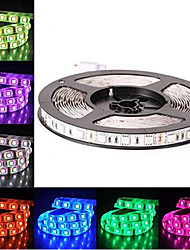 cheap -LED 12V SMD 5050 RGB LED Strip Lights LED Tape Multi-colors 300 LEDs 10mm Non-waterproof Light Strips Color Changing Pack of 5m Strips