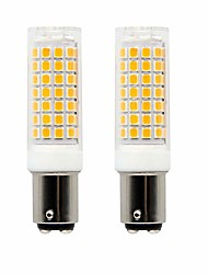 cheap -2pcs 7 W LED Corn Lights 990 lm BA15D T 88 LED Beads SMD 2835 Decorative Lovely Warm White Cold White 220-240 V 110-130 V
