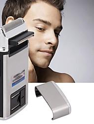 Недорогие -USB портативный электрический аккумуляторная поршневого типа бритвы для мужчин триммер для бороды