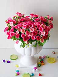 Недорогие -1 шт. Искусственный цветок 25 дикая трава роза цветок искусственный цветок украшения дома гостиная подарок размещение