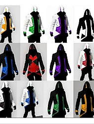 cheap -Inspired by Assassin Assassin Cookie Anime Anime Cosplay Costumes Japanese Cosplay Suits Cosplay Tops / Bottoms For Men's Women's
