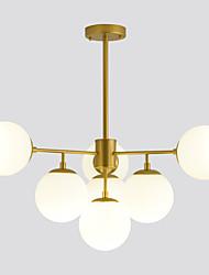 Недорогие -ZHISHU 7-Light 80 cm LED / Управление WIFI Люстры и лампы Металл Стекло Шары Окрашенные отделки LED / Традиционный / классический 110-120Вольт / 220-240Вольт