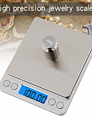 cheap -500g/0.01g LCD-Digital Screen Auto Off Electronic Kitchen Scale Digital Jewelry Scale Mini Pocket Digital Scale with 2 Trays