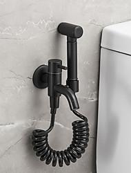 cheap -Bidet Faucet Electroplated Toilet Handheld Bidet Sprayer Self-Cleaning Contemporary Brass