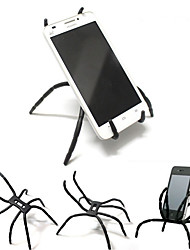 cheap -Creative Spider Shape Mobile Phone Support Re-shapable Deformation Desktop Tablet Smart Phone Cellphone Stand Holder