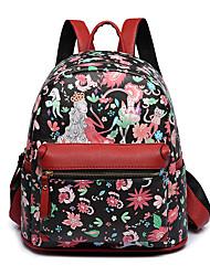 Недорогие -Большая вместимость PU Молнии рюкзак Человек Для занятий спортом Зеленый / Черный / Красный / Наступила зима