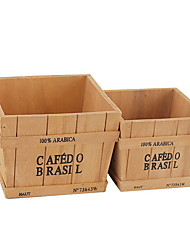 cheap -Storage Box Wooden Ordinary Accessory 1 Storage Box Household Storage Bags