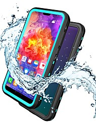 Недорогие -Кейс для Назначение Huawei Huawei P20 / Huawei P20 Pro / Huawei P20 lite Защита от пыли / Резервная копия Кейс на заднюю панель / Бампер Однотонный Мягкий ТПУ / ПК