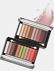 cheap -11 Colors Eyeshadow Eyeshadow Palette Adult Daily EyeShadow Lidded Portable Carrying Single Open Lid Women Portable Tool Case Casual / Daily Daily Makeup Cosmetic Gift