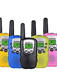 cheap -Baofeng Mini BF-T3 Walkie Talkie Portable 8 Channel Children Two-Way Radio 10 Call Tones Hf Transceiver Communicator T3 (1 Pair))