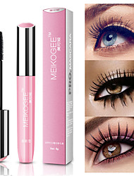 cheap -4D Long Thick Mascara Silicone Brush Head Waterproof Lasting Natural Eye Makeup