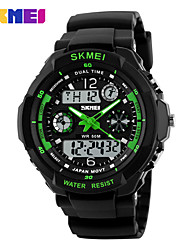 cheap -Skmei Brand Men Sports Watches Military Watch Casual LED Digital Watch Multifunctional Wristwatches 50M Waterproof Student Clock