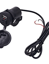 cheap -Motorcycle Mobile Phone Charger 12v Waterproof Single USB with Switch Charger
