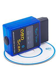 Недорогие -JSJ Все модели 16pin 16 OBD / OBD-II / EOBD ELM327 IOS и Android App ISO15765-4 (CAN BUS) / SAE J1850 PWM / SAE J1850 VPW Автомобильные диагностические сканеры