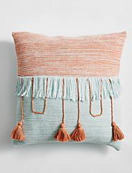 cheap -Set of 1 Velvet Pillow Cover & Insert, Color Block Casual Throw Pillow