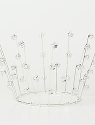 cheap -Alloy Tiaras / Headdress / Headpiece with Imitation Pearl / Sparkling Glitter / Glitter 1pc Wedding / Party / Evening Headpiece