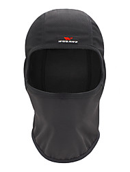 cheap -WOSAWE Balaclava Solid Color Thermal / Warm Windproof Sunscreen UV Resistant Breathable Bike / Cycling Black Polyester Winter for Unisex Adults' Outdoor Exercise Cross-Country Bike / Cycling Solid