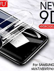 cheap -9d curved soft hydrogel film for samsung galaxy s8 s9 s7 s6 edge plus screen protector film for samsung note 8 9 film(not glass)