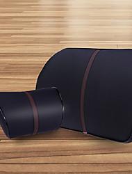 Недорогие -искусственная кожа авто подушка для шеи пена с эффектом памяти подушка для шеи