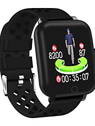 Недорогие -DM06 Мужчины Смарт Часы Android iOS Bluetooth Водонепроницаемый Сенсорный экран Пульсомер Измерение кровяного давления Спорт