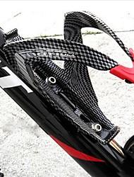 Недорогие -Велоспорт Бутылку воды клеткой Углеродное волокно Назначение Велоспорт Углеродное волокно Черный 1 pcs