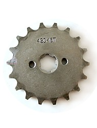 cheap -420-17MM-18T Tooth Front Sprocket For 150 200cc Dirt Pit Bike ATV Motocross Engine Lifan Locin