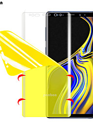 cheap -full cover hydrogel film for samsung galaxy note 8 9 s8 s9 screen protector for samsung s9 s8 s7 s6 edge plus (not glass)