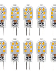 cheap -G4 2.5W LED Bulb 10 Pack LED Bi-pin G4 Base 20W Halogen Bulb Replacement Warm White /Cold White DC12V