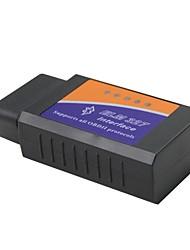 cheap -ELM 327 Bluetooth V1.5 Interface Work On Android Torque Elm327 Bluetooth OBD2/OBD II bluetooth Car Diagnostic ELM327 OBD2 Bluetooth WIFI V1.5 Car Diagnostic Tool - Black