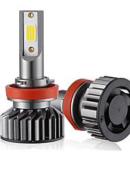 Недорогие -Мини-автомобиль светодиодная лампа головного света h8 / h9 / h11 привет / ло 72 Вт 10000lm 6000 К автомобильная фара