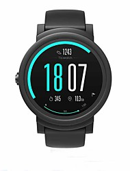 cheap -TicWatch TicWatch E Men Women Smartwatch Android iOS WIFI Bluetooth Waterproof GPS Heart Rate Monitor Sports Calories Burned ECG+PPG Stopwatch Pedometer Call Reminder Activity Tracker / Long Standby