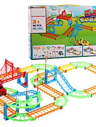 cheap -Toy Race Car & Track Sets Compact Track & Multi Terrain Loader Car Soft Plastic Kids All Toy Gift