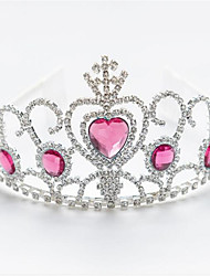 cheap -Crystal / Plated Silver / Alloy Tiaras with Crystal 1 Piece Wedding / Special Occasion Headpiece