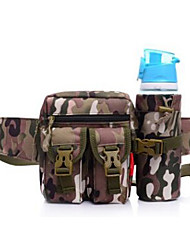 cheap -0-10L Belt Pouch / Belt Bag Military Tactical Backpack Multifunctional Waterproof Wear Resistance Outdoor Camping / Hiking Nylon Black Beige Coffee